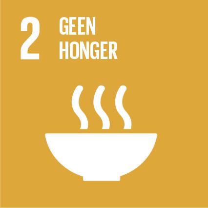 Duurzame Ontwikkelingsdoelstelling 2 Geen honger